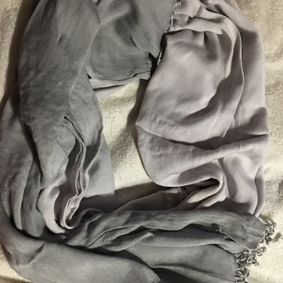 Lane Bryant Accessories - Lane Bryant Ombré Grey Scarf
